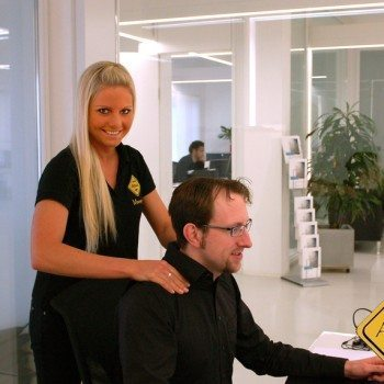 Massage in the office