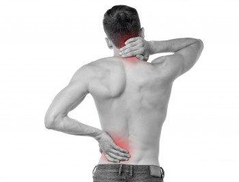 Massage-Rückenschmerzen