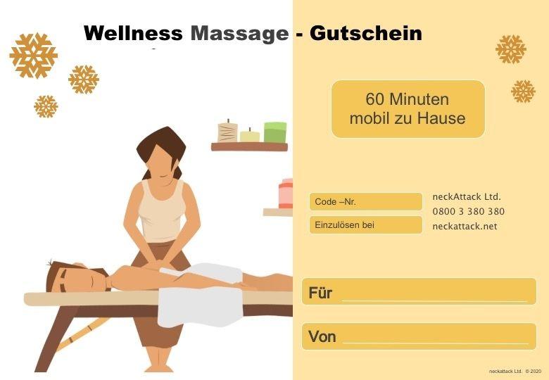 Massage Gutschein 2021