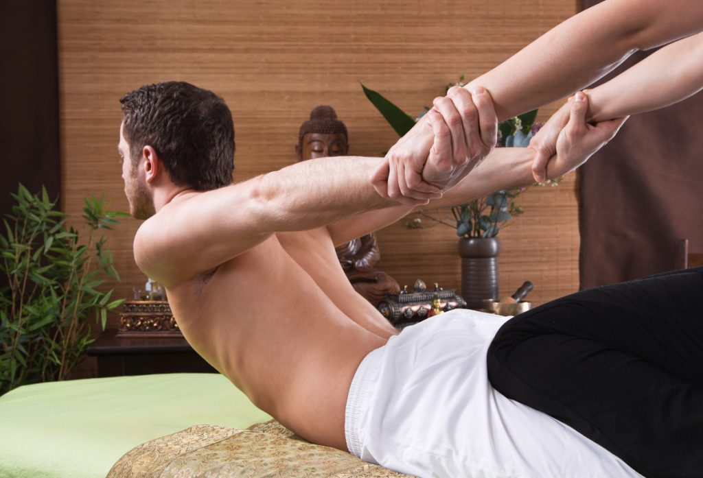 Thai Massage Köln 1200 neckattack Mann