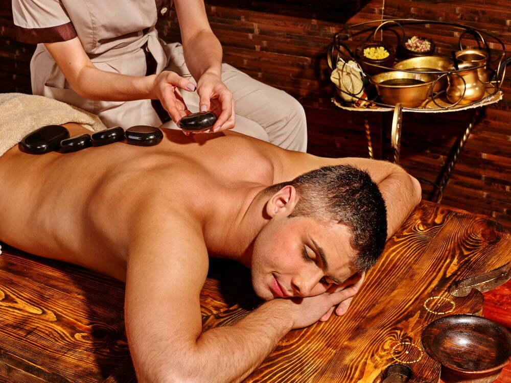 Wellness Massage Köln Mann Hot Stone
